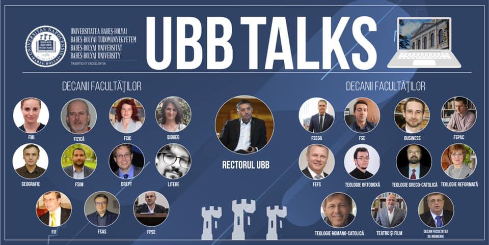 UBB Talks – Universitatea Babeș-Bolyai răspunde întrebărilor liceenilor