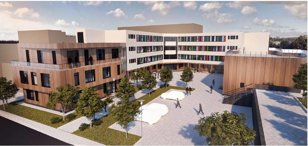 A început construirea celui mai modern sediu al unei școli speciale din țară la Cluj-Napoca