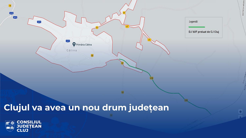 Clujul va avea un nou drum județean, care va fi reabilitat și modernizat