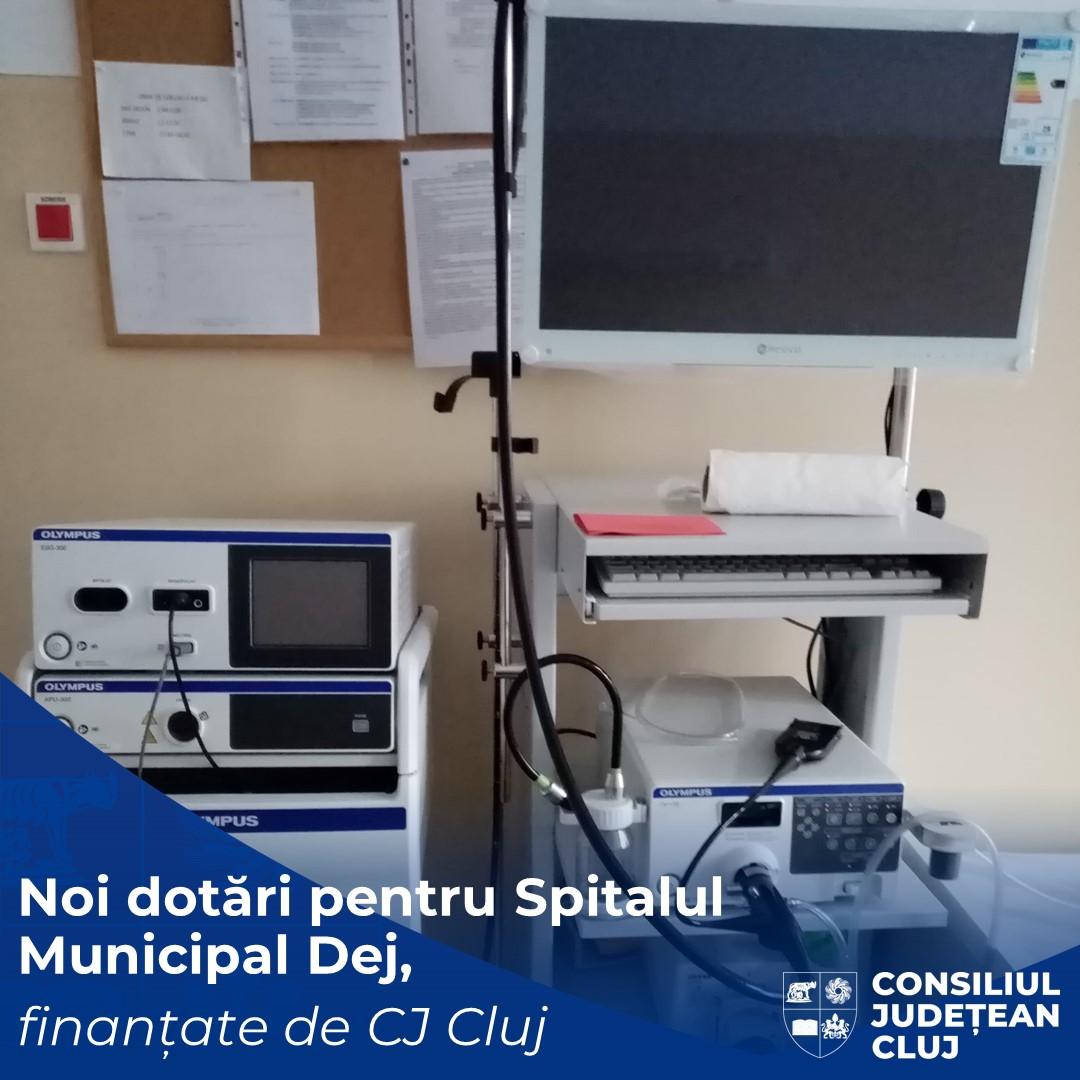 Noi dotări medicale pentru Spitalul Municipal Dej