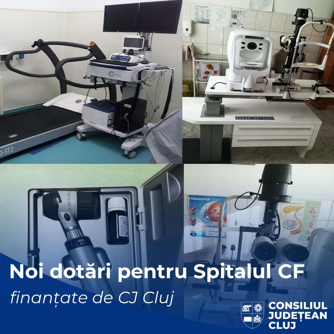 Noi echipamente medicale finanțate de Consiliul Județean pentru Spitalul Clinic Căi Ferate