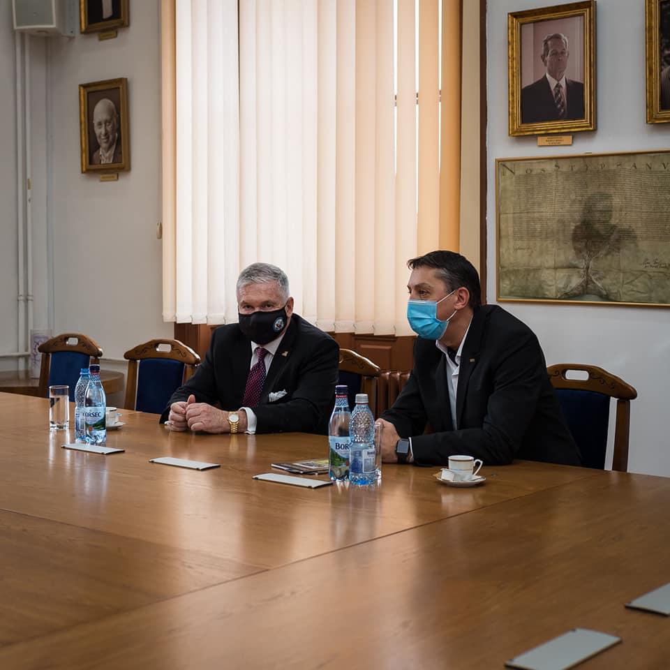 Universitatea Babeș-Bolyai pune bazele unor colaborări academice viitoare cu spațiul american