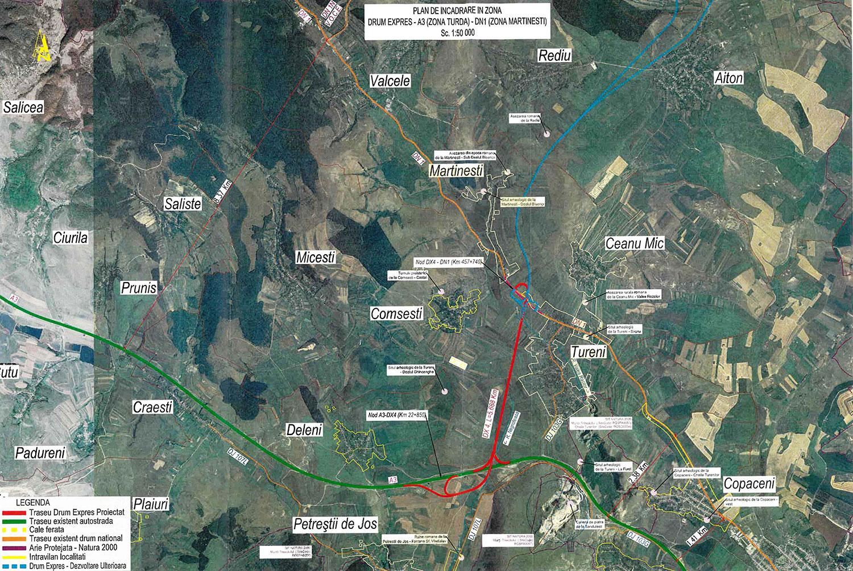Noi demersuri pentru construirea drumului expres ce va face conexiunea între Autostrada A3 și DN1