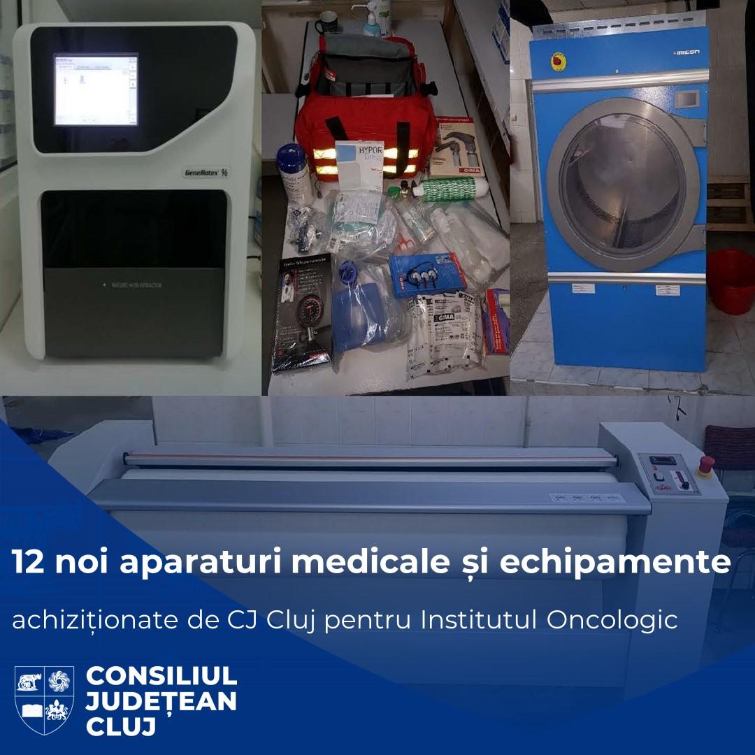 Noi echipamente ultramoderne pentru Institutul Oncologic Profesor Doctor Ion Chiricuță din Cluj-Napoca