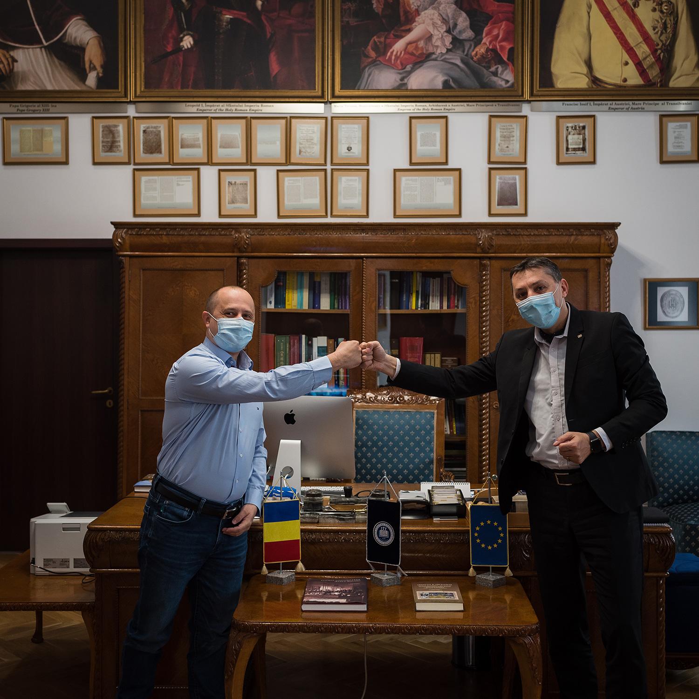 Alianță strategică academică între Universitatea Babeș-Bolyai și Transylvanian Institute of Neuroscience