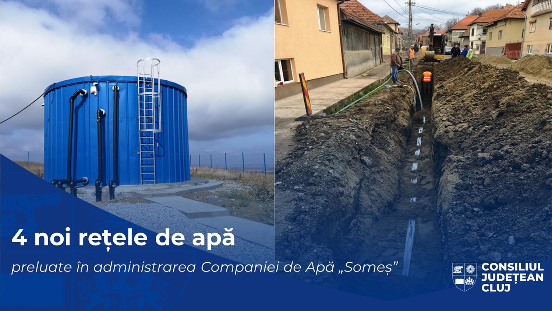 Investiții în infrastructura de apă, în valoare de peste nouă milioane de lei, integrate în rețeaua publică a județului