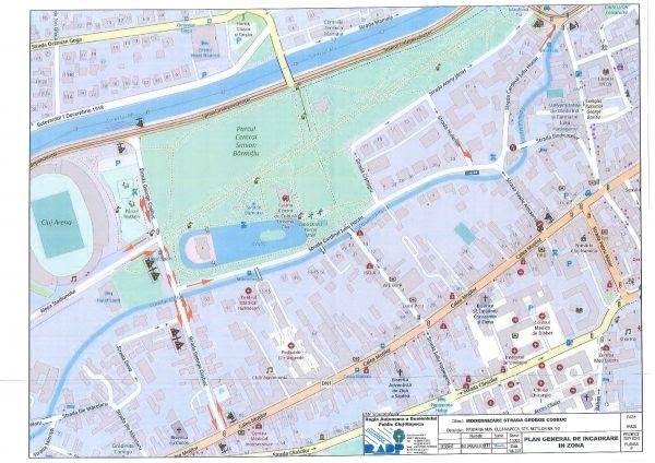 Restricții de circulație pe străzile Vasile Alecsandri și Sindicatelor din municipiul Cluj-Napoca