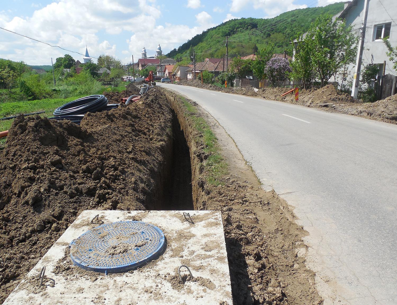 Comuna Cojocna va beneficia de o rețea de apă modernizată