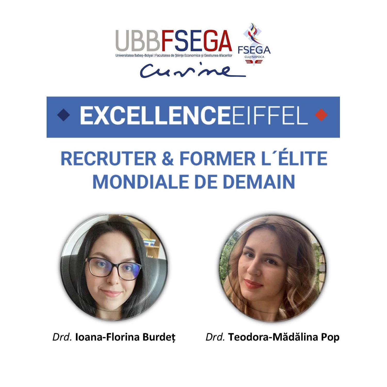 Doctoranzi ai Universității Babeș-Bolyai printre câștigătorii prestigioaselor burse de excelență Eiffel  acordate de guvernul francez