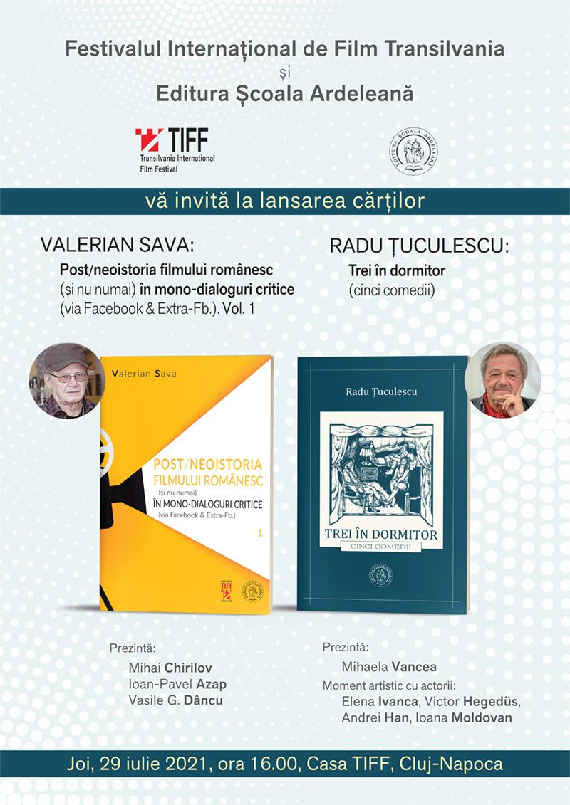 Dublă lansare de carte la TIFF