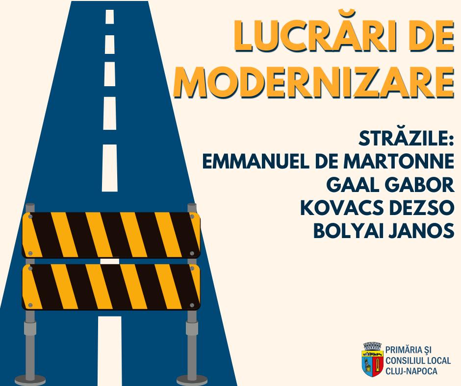 Încep lucrările în cadrul proiectului de amenajare a străzii Mihail Kogălniceanu, străzii Universității și străzile adiacente din municipiul Cluj-Napoca