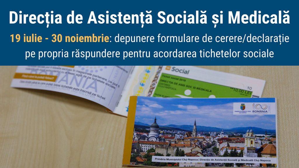 Începe perioada de înscrieri pentru tichetele sociale în cadrul Programului social Alimente