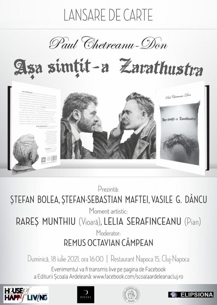 Paul Chetreanu Don - Așa simțit-a Zarathustra