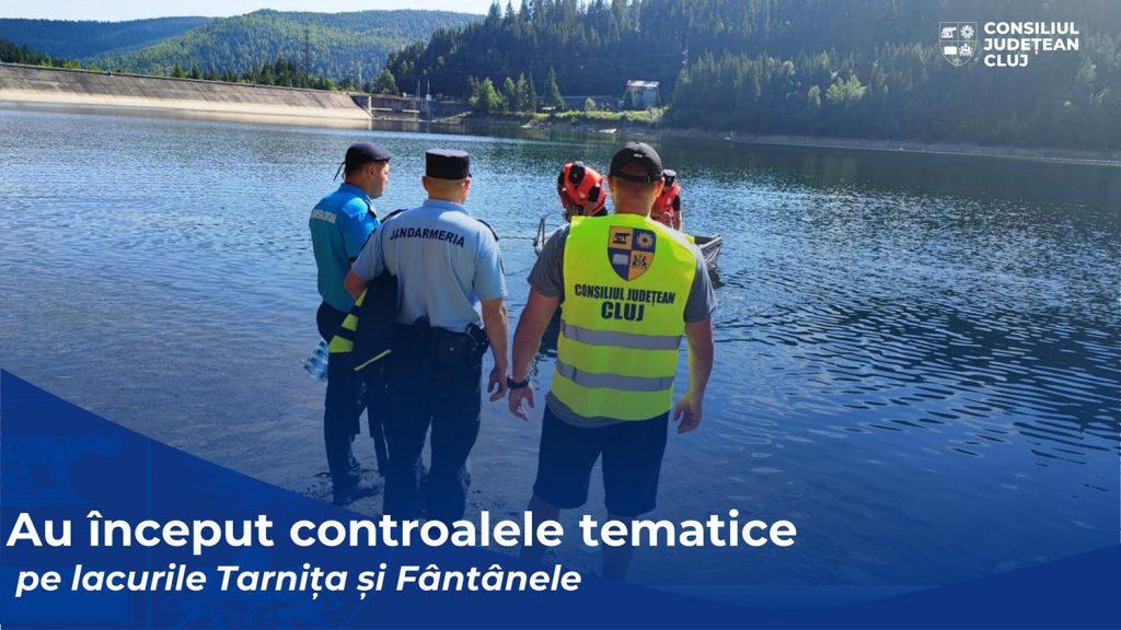 Sancțiuni aplicate de Consiliul Județean în urma controalelor efectuate pe lacurile Tarnița și Fântânele